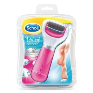 Scholl Velvet Smooth talpreszelő elektr. Pink  1x