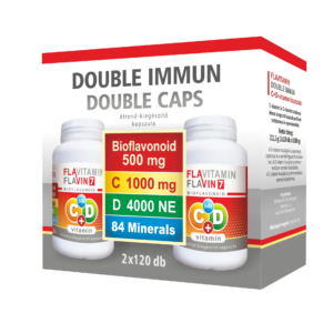 Flavitamin Double Immun C+D vitamin 2×120 kapszula