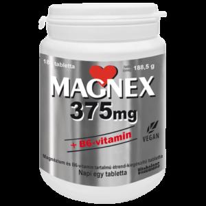 Magnex 375mg+B6 vitamin tabletta 180x