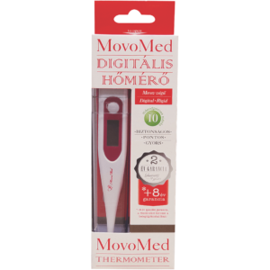 Movo-Med digitális lázmérő rigid végű