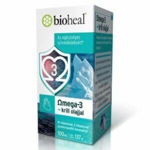 Bioheal Omega3 krill olaj lágy kapszula 100x