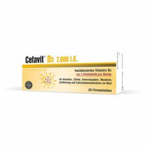 Cefavit D3 7000NE filmtabletta 20x