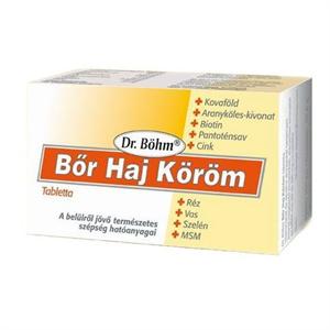 Dr.Böhm bőr-haj-köröm tabletta 60x