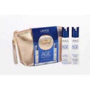 Uriage Age Protect ránctalanító csomag neszeszerben normál-kombinált bőrre 2x40ml