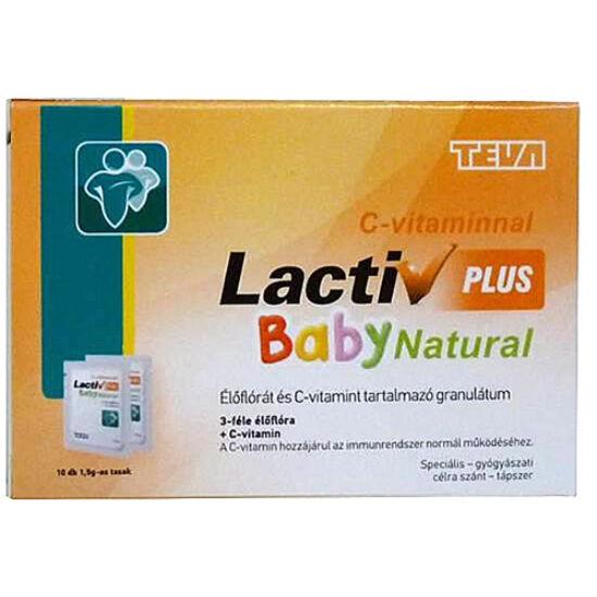 Lactiv Baby Plus Natural granulátum  10x