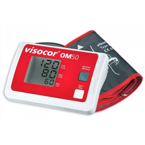 Visocor OM50 automata felkaros vérnyomásmérő 22-43cm mandzsettával