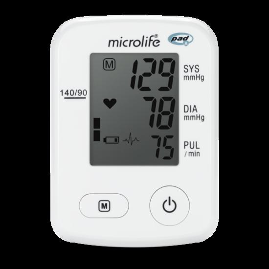 Microlife BP A2 Classic automata felkaros vérnyomásmérő