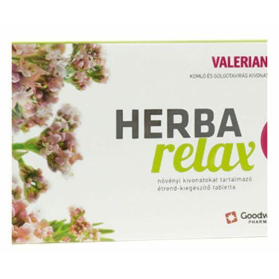 Herba Relax tabletta GOODWILL 30x