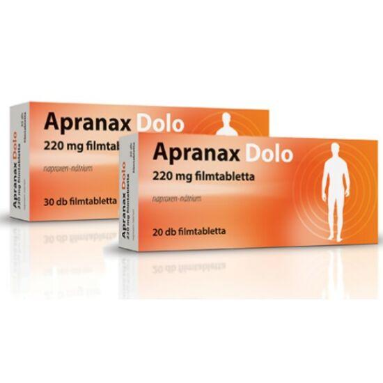 Apranax Dolo 220 mg filmtabletta 30x