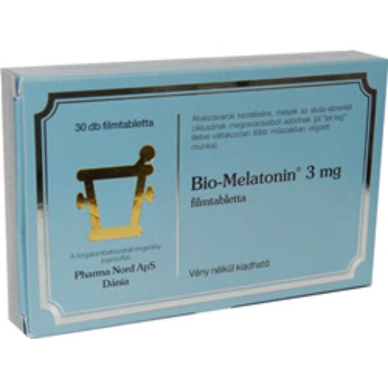 Bio-melatonin 3mg filmtabletta 60x