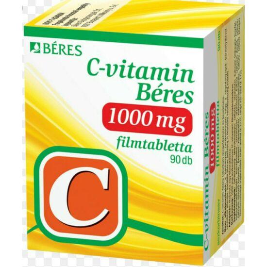 C-vitamin Béres 1000 mg filmtabletta 90x