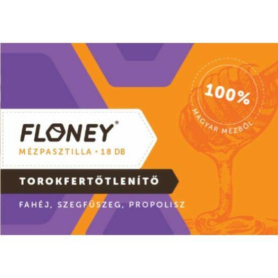 Floney Mézpasztilla fahéj szegfűszeg propolisz 18x