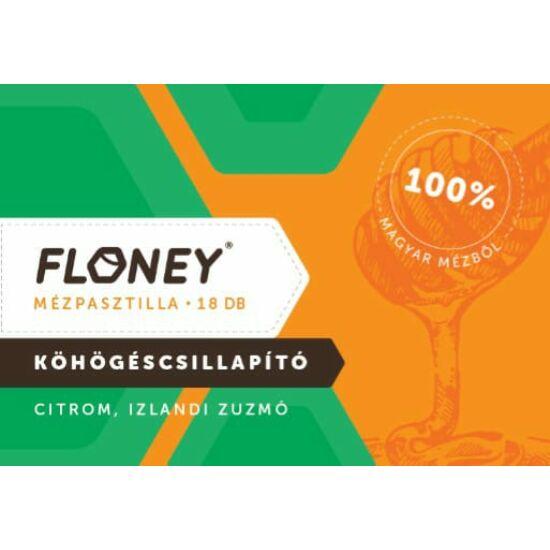 Floney Mézpasztilla citrom izlandi zuzmó  18x