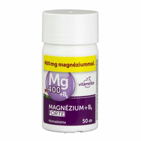 Béres Vitamintár Magnézium 400 mg B6 Forte tabl.  50x