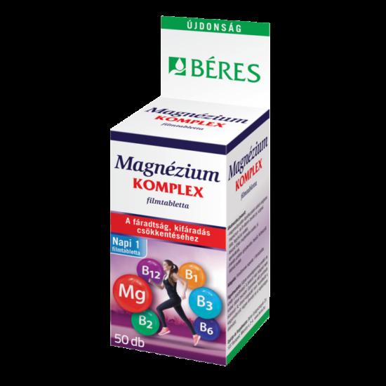 Béres Magnézium Komplex filmtabletta vitaminokkal 50x