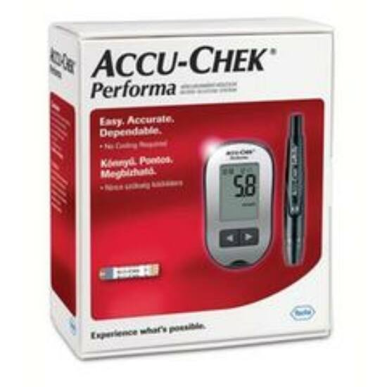 AccuChek Performa vércukorszint mérő készlet