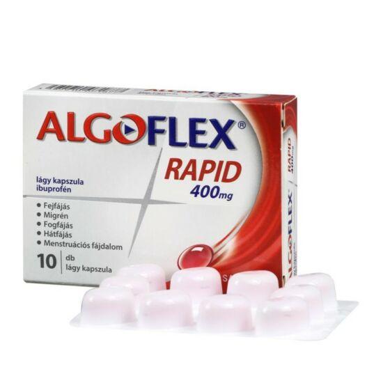 Algoflex Rapid 400 mg lágy kapszula  10x