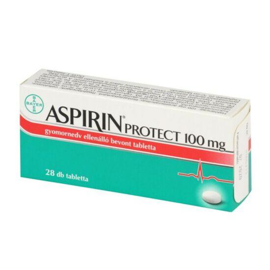 Aspirin® Protect 100 mg gyomornedv-ellenálló bevont tabletta