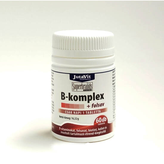 JutaVit B-komplex + folsav 60db