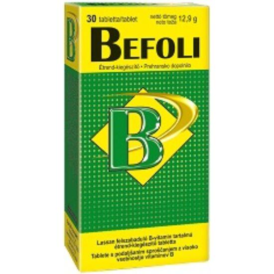 Befoli lassan felszabaduló B-vitamin tabletta 30x