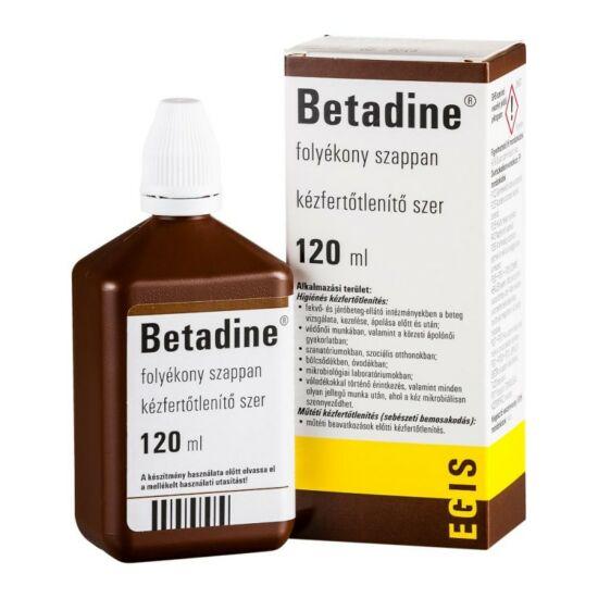 Betadine folyékony szappan 120ml