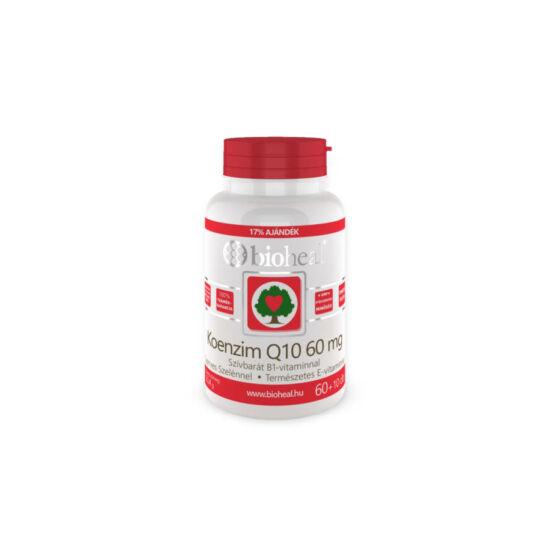 Bioheal Koenzim Q10 60 mg Szelénnel E-vitaminal és B1-vitaminnal 70x