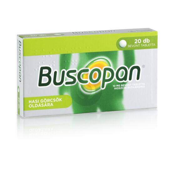 Buscopan 10mg tabletta 20x