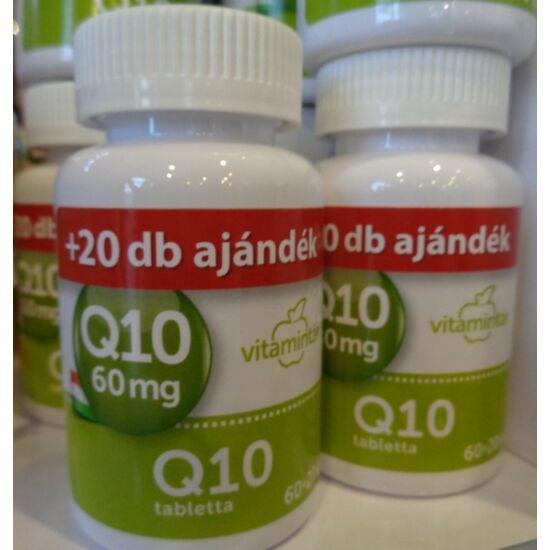 Béres Vitamintár Q10 60 mg tabletta 60x+20x