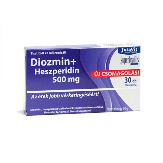 JutaVit Diozmin + Hesperidin 500mg 30db