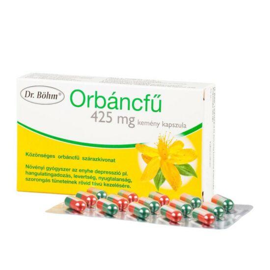 Dr.Böhm Orbáncfű 425mg kemény kapszula 30x