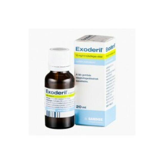 Exoderil 10 mg/ml külsőleges oldat 20ml