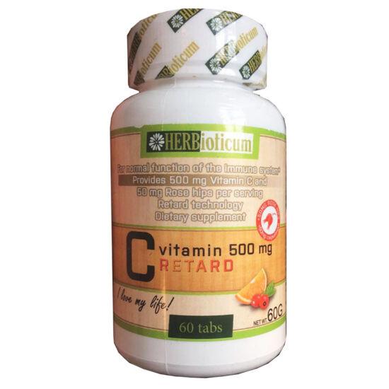 Herbioticum C-vitamin 1000mg + csipkebogyó 50mg 50+50x