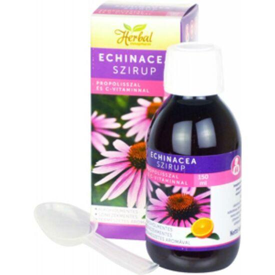 VitaPlus Herbal Echinacea szirup propolisz C-vit. 150ml
