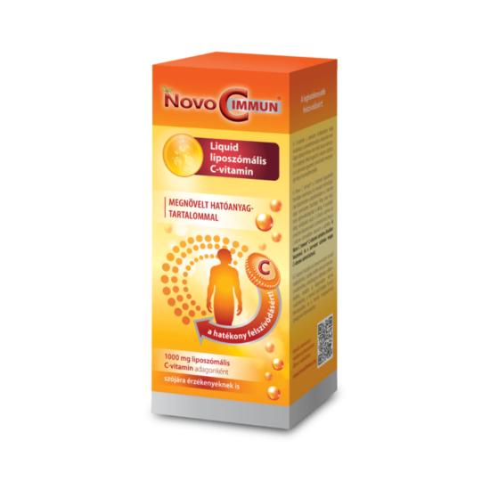 Novo C Immun® Liquid Liposzómás C-vitamin 136ml