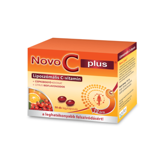 Novo C plus liposzómális C-vitamin kapszula 90x