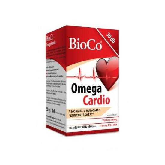 BioCo Omega Cardio kapszula 30x