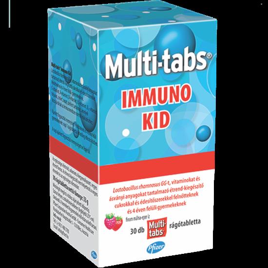 Multi-Tabs Immuno Kid rágótabletta 30x