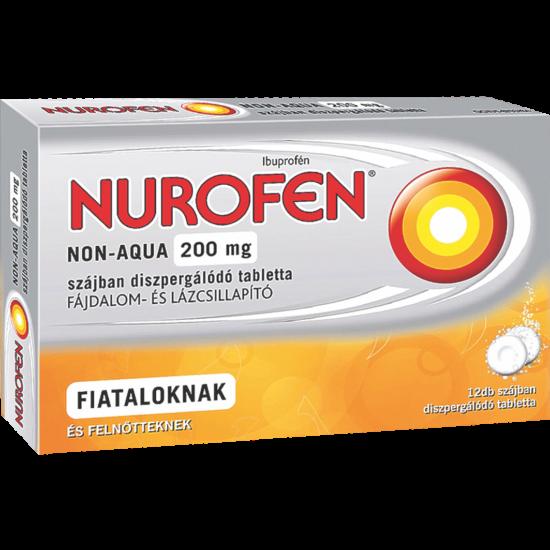 Nurofen Non-Aqua 200mg szájban oldódó tabletta 12x