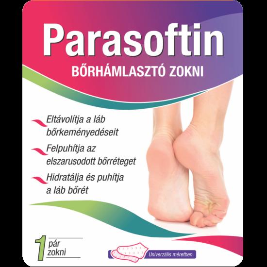 Parasoftin bőrhámlasztó zokni