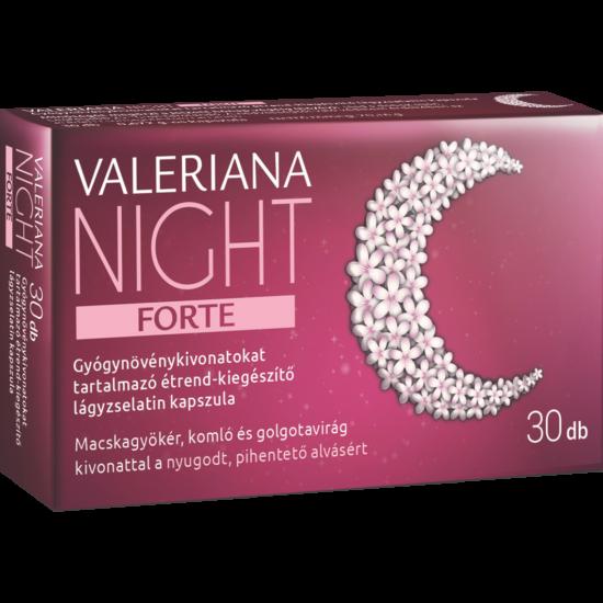 Valeriana night forte kapszula 30x