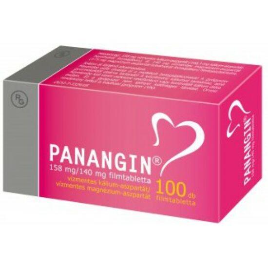Panangin 158 mg/140 mg filmtabletta 100x