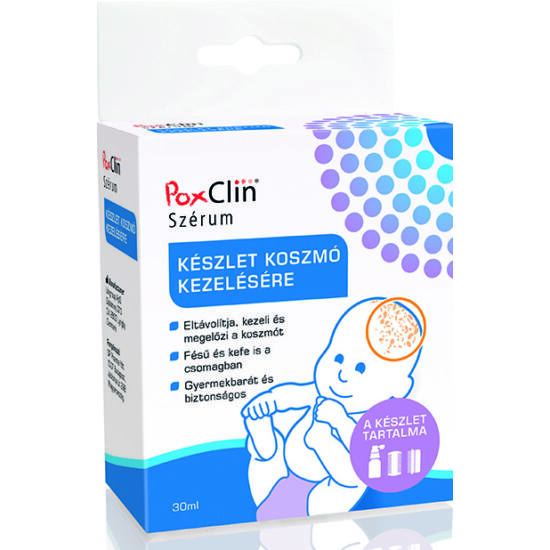 Poxclin szérum készlet 30ml