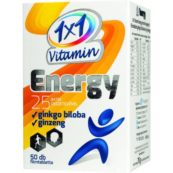 VitaPlus 1x1 Vitamin Energy filmtabletta 50x