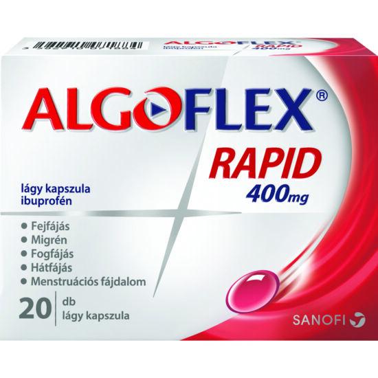 Algoflex Rapid 400 mg lágy kapszula  20x