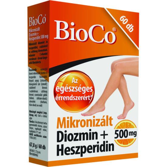 BioCo Mikronizált Diozmin Hesperidin filmtabletta 60x