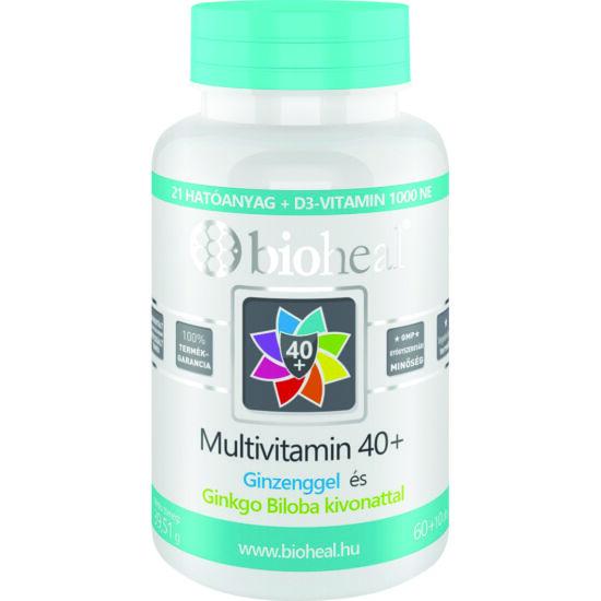 Bioheal Multivitamin 40+ filmtabletta 70x