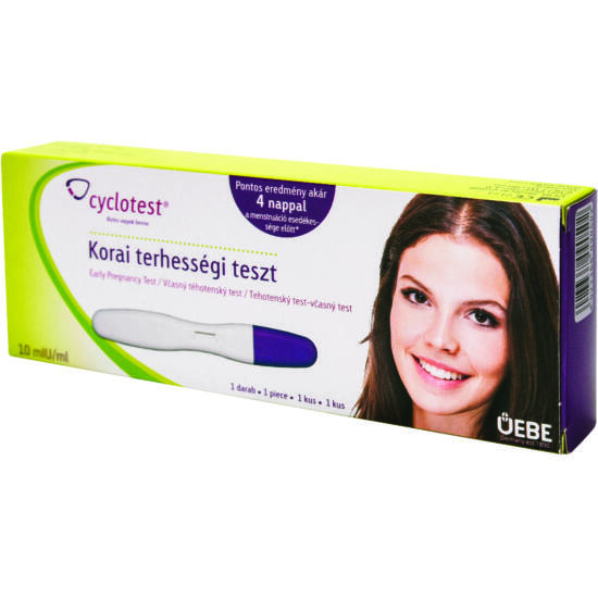 Cyclotest Korai terhességi teszt 10mIU/ml