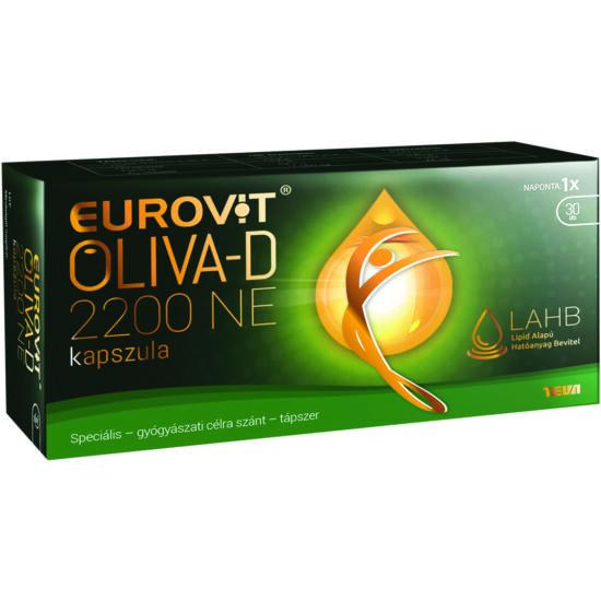 Eurovit Oliva-D 2200NE kapszula 30x