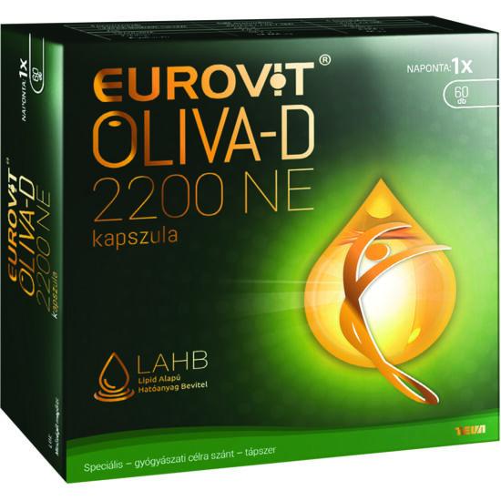 Eurovit Oliva-D 2200NE kapszula 60x
