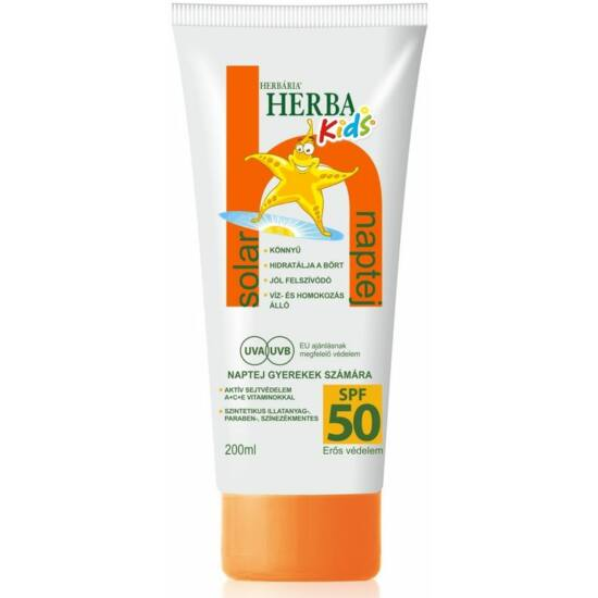 Herba Kids naptej SPF50 200ml